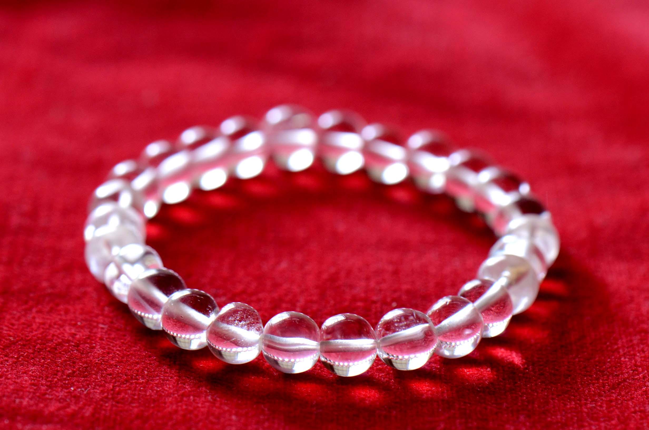 ガネーシュヒマール 水晶 数珠 ヒマラヤ