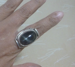 ブラックスター,指輪,リング